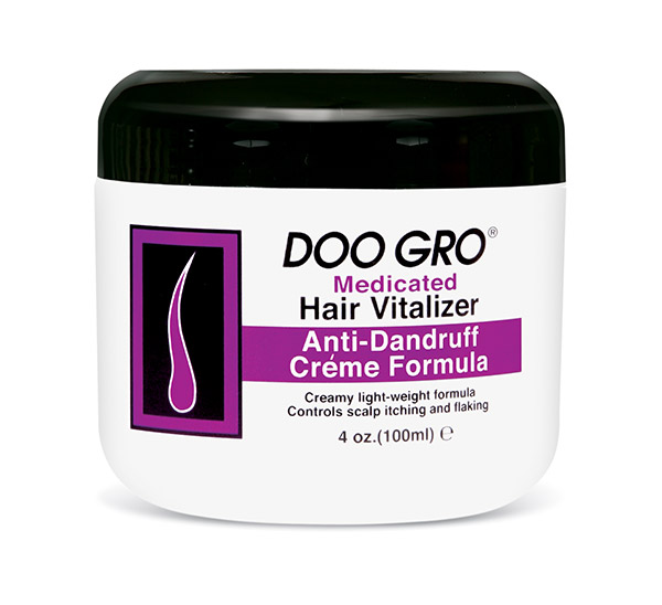 Doo Gro Medicated Hair Vitalizer Anti-Dandruff Creme Formula