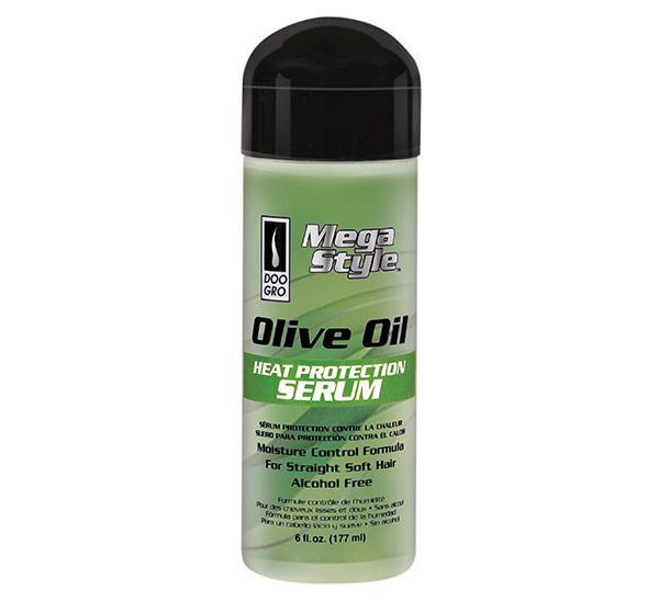 Mega Style Olive Oil Heat Protection Serum