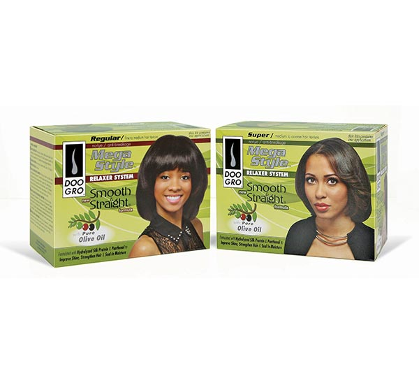 Mega Style Smooth and Straight® No Lye Relaxer